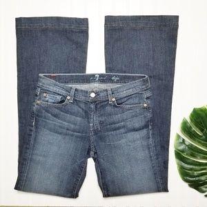 7 For All Mankind | Dojo Flare Leg Jeans | 29